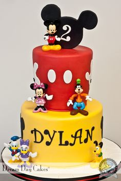 Mickey and Friends Birthday Cake