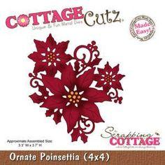 Dies - Ornate Poinsettia
