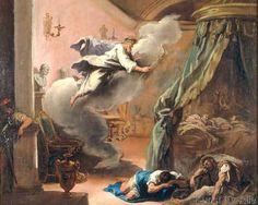 Sebastiano Ricci - Äskulap erscheint den Kranken im Traum