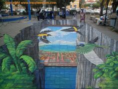 Sidewalk Chalk Art by Tracy Stum