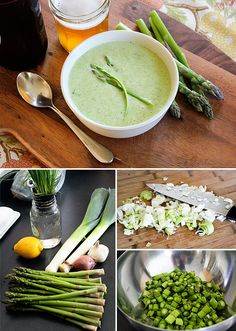 Spring Brunch Menu: Asparagus Soup