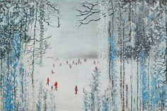 Winter's Curtain - Emmeline Webb