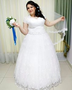 Most a-line plus size wedding dresses do not feature the hips.  This short cap sleeve bridal gown can be recreated for a bride of any size with any change that is necessary.  Custom #plussizeweddingdresses that are affordable are our specialty.  Our firm can also create very close #replicas of haute couture bridal gowns but for much less than the original.  Email us from our site for pricing at www.dariuscordell.com