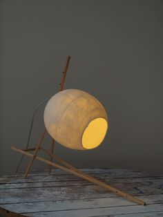 Vilt aan Zee, Sandra Burggraaf and Anne van de Weijer - Lightobject Heppie. The felt lampshades are made from 100% wool .... http://www.crowdyhouse.com/shop/vilten-lamp/#/page/1