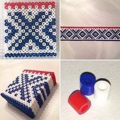 Marius pattern coaster set hama beads by alida.helene.nesse
