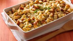 Homemade stuffing is one of the classic dishes that make the Thanksgiving meal wished for and dreamed about.