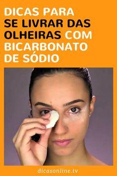 Bicarbonato para olheiras - Como usar