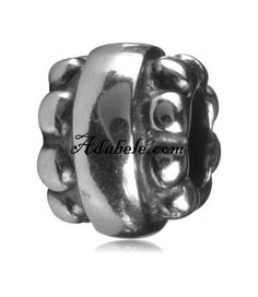 This beautiful bravery bead .925 Sterling Silver European charm fits Pandora, Biagi Trollbeads, Chamilia, and most charm bracelets find out more at adabele.com