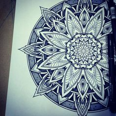 Solstice Mandala Project Day001 by OrgeSTC on DeviantArt