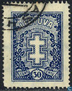 1929  Lithuania - Cross and honorary wreath
