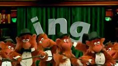 """In this video segment from Between the Lions, the Lions sing about the importance of the letter combination """"ing,"""" words that couldn't be formed without """"ing,"""" and consequently events that could never happen without """"ing."""" Monkeys sing along, dance, and perform a tap routine. Featured words include: sing, thing, ding-a-ling, sting, cling, zing, spring, king, swing, string, wing, brings, ping, and ring. This video segment provides a resource for Phonemic Awareness, Phonics, and Phono…"""