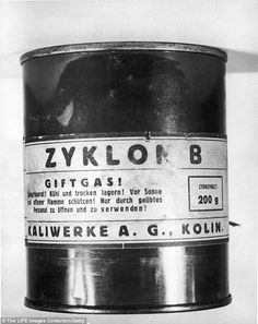 Cruel: An expert claimed that Zyklon-B gas used by the Nazis in concentration camps should...