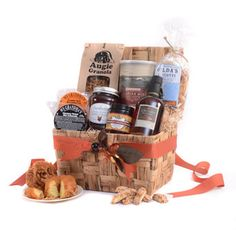 The Nor'Easter Breakfast Basket Gourmet Food Gifts  |  SavoryPantry.com