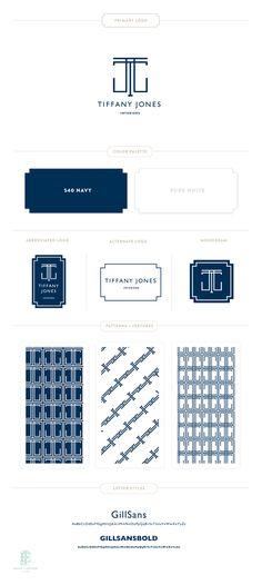 Tiffany Jones Branding Design by Emily McCarthy