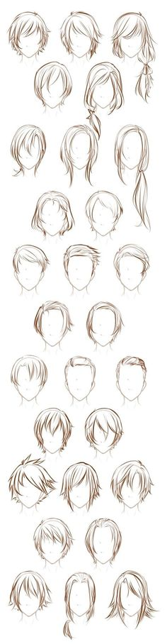 Desenho de cabelo Manga Character Design References Ideas - Nail Effect Hair Sketch, Drawing Sketches, Cool Drawings, Art Sketches, Sketching, Fashion Sketches, Illustration Sketches, Hair Style Sketches, Drawings Of Hair