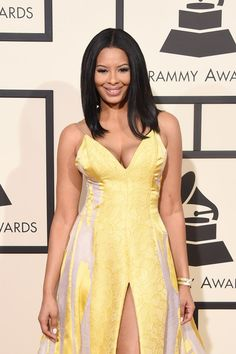 Vanessa Simmons attends The 58th GRAMMY Awards