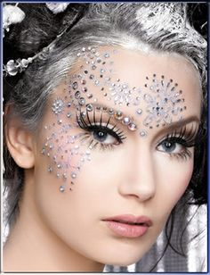 snow queen makeup 12