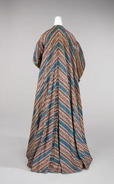 Dressing gown1865–70 Culture: American Medium: cotton