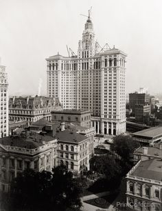 New Municipal Building, New York City, 1912