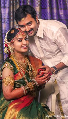 Shopzters is a South Indian wedding site Indian Wedding Couple Photography, Wedding Photography Poses, Maternity Photography, South Indian Weddings, South Indian Bride, Bridal Looks, Bridal Style, Indian Bridal Fashion, Indian Beauty Saree