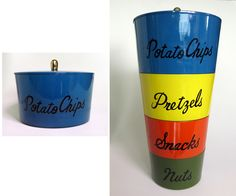 AFL CoolStuff - Mid Century Stackable Canisters, THESE ARE SO RAD