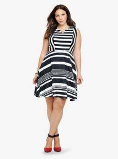 This Striped dress from Torrid.com is literally talking to me! I look at it everyday.