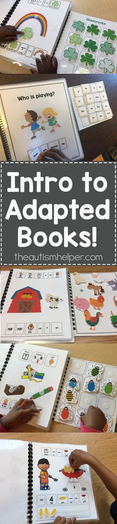 So what are adapted books and why should we be using them? Help your students feel successful with these interactive & motivating tools!! From theautismhelper.com