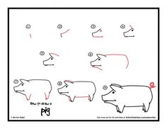 download how to draw a pig