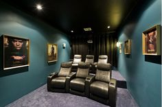 Home theater design idea