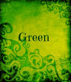 Color Verde - Green!!!