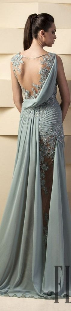 Hanna Toumajean couture dress 2015