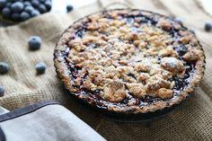 Blueberry Streusel Tart