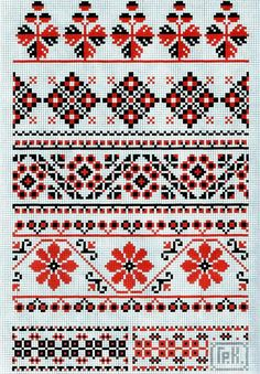 Gallery.ru / Фото #16 - Ukrainian Stitching Art - thabiti Cat Cross Stitches, Cross Stitch Borders, Cross Stitch Charts, Cross Stitch Designs, Cross Stitching, Cross Stitch Patterns, Folk Embroidery, Cross Stitch Embroidery, Embroidery Designs