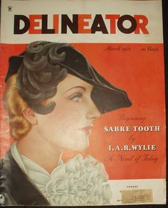 Vintage March 1935 Delineator Magazine 7 Fashion Pages - The Gatherings Antique Vintage
