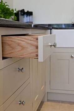 Dove tailed drawers