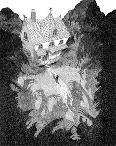 English Pen and Ink Illustrator Rohan Eason is known for his stark black and white imagery. Check out his portfolio with amazing atmospheric pen and ink illustrations Art And Illustration, Black And White Illustration, Ink Illustrations, Black And White Books, Black And White Drawing, White Art, Black White, Art Blanc, Tinta China
