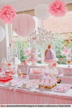 fiesta infantil tematica niñas - Buscar con Google