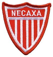 Necaxa.  Our son-in-law's favorite soccer team.