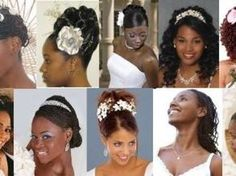 wedding hairstyles for black women | Wedding Blog Ideas and Tips