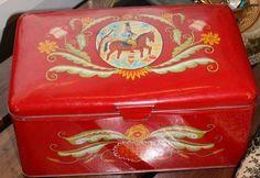 Rasia Grandma Cookies, Cookie Box, Tins, Decorative Boxes, Vintage, Home Decor, Homemade Home Decor, Decoration Home, Decorative Storage Boxes