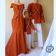 Kenyan Wedding, African Wedding Attire, African Attire, African Fashion Dresses, African Dress, Fashion Outfits, Traditional Dresses For Kids, Traditional Wedding Attire, African Traditional Wedding