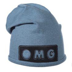 Шапка колпак синяя OMG Ander