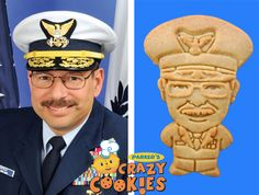 Retirement Party Ideas - Custom Cookies - Coast Guard - Edible Favors