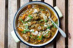 Paleo Lamb Curry Coconut Recipe