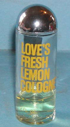 OMGoodness.....WHO remembers this????? loves fresh lemon perfume