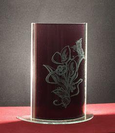 AnimaBlog: LAMPADE ( #glass #engraving #vetro #inciso )