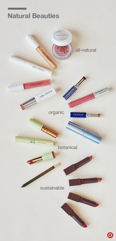 All this color's the real deal. W3LL People offers all-natural beauty, from blush to lip gloss. Vapour promises products with at least 70% organic ingredients (the rest consists of mineral pigment and essential oils). Pixi's pretty Earth-friendly with its cult following around the globe (not to mention all the botanicals they use), and when it comes to RE-use, hydrating Burt's Bees lipsticks get all the buzz: 14 shades of rich color come in recyclable packaging made from 60% PCR materials.