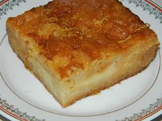 Placinta greceasca Lasagna, Quiche, French Toast, Deserts, Pie, Candy, Cooking, Healthy, Sweet