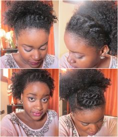 Quick Hairstyles For Short Natural African American Hair Mesmerizing Cute Quick Hairstyles For Short African American Hair  Basic