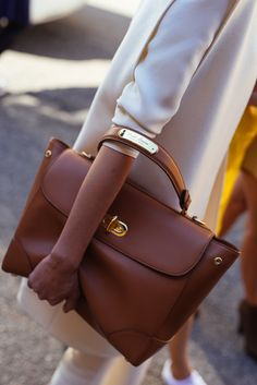 Check out all of the best designer bags from street style outside of days 7 and 8 of New York Fashion Week.